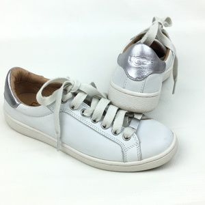 UGG Milo Sneakers White Leather Silver Street